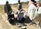 دستگیری صیادان غیر مجاز پرنده های شکاری در حال انقراض