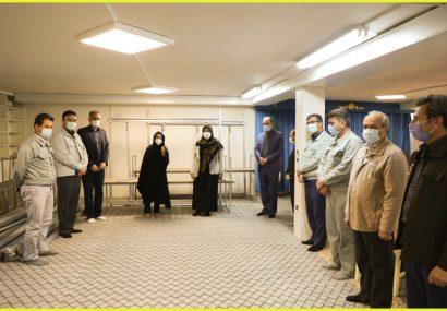 تجهیز ۲۰۰ کارگاه قالی بافی خانگی با کمک مجتمع فولاد خراسان