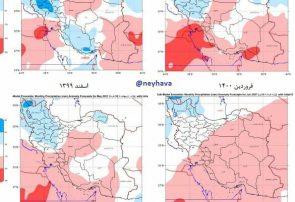کاهش ۷۰ درصدی بارش ها در نیشابور