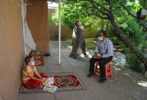 گفتگو با بانوی هنرمند عکاس نیشابوری مهناز  نوریان